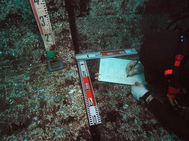 潜水作業の画像